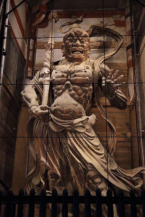 金剛力士像(阿形像)
