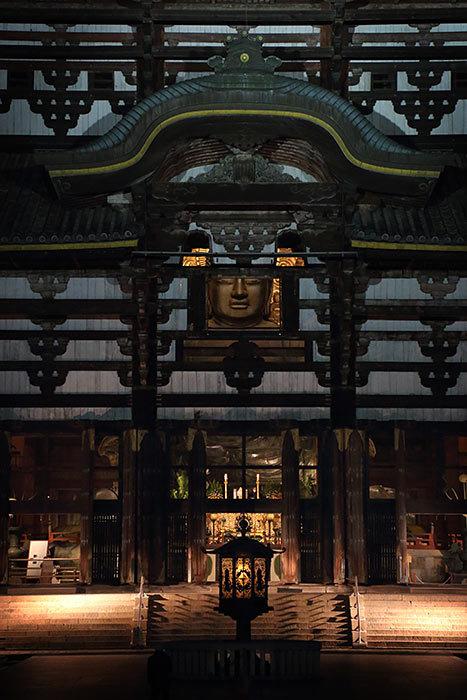 東大寺 観相窓の大仏