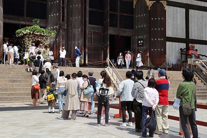 東大寺 仏生会4
