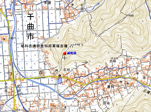 鷲尾城地図1①