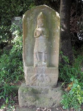 10松戸市松ヶ崎の香取神社(二臂青面金剛)