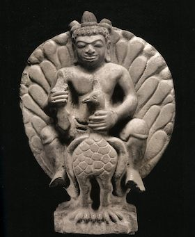 1 6〜7世紀孔雀に乗るスカンダ