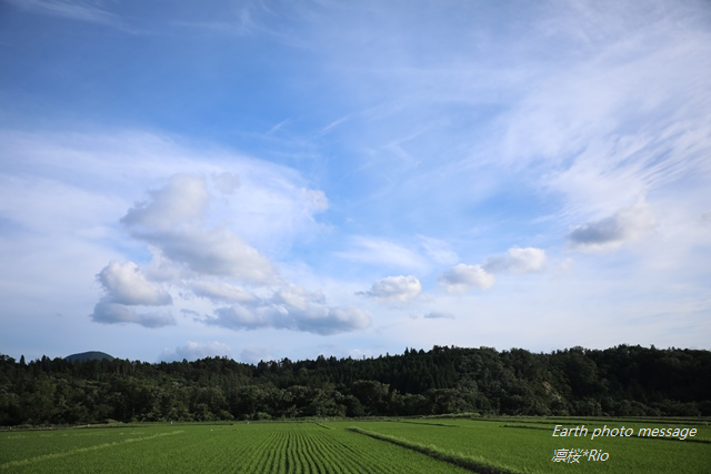 Earth photo message287 舞台