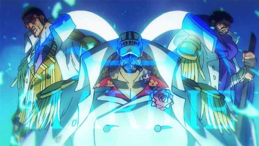 ワンピース アニメ 海軍大将