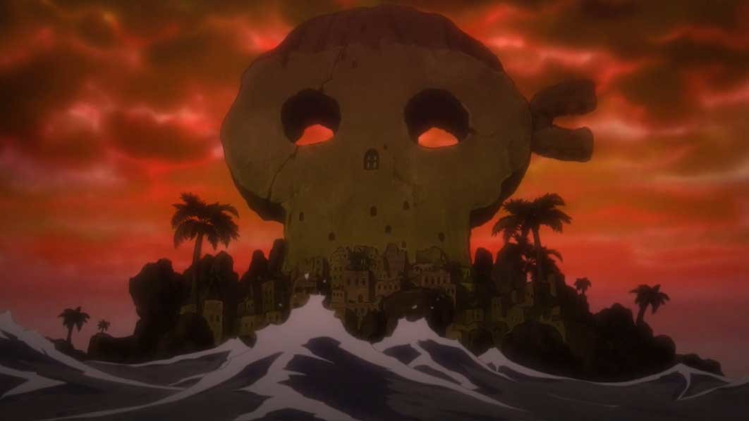ワンピース アニメ 海賊島ハチノス
