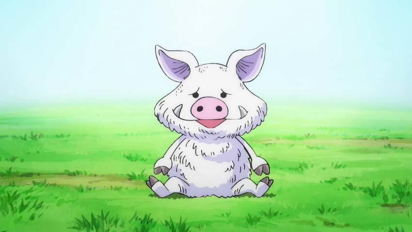 ワンピース アニメ 白猪