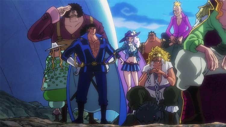 ワンピース アニメ 白ひげ海賊団
