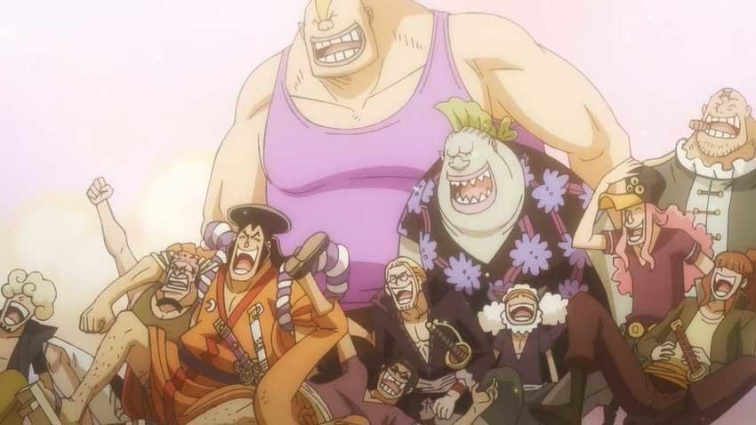 ワンピース アニメ ロジャー海賊団