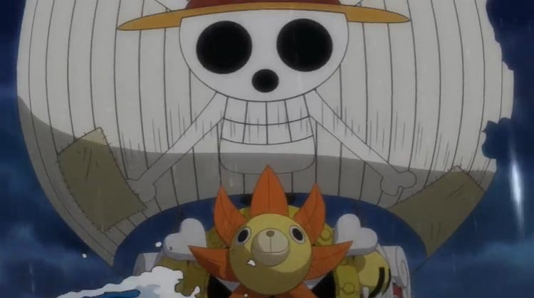 ワンピース アニメ サニー号
