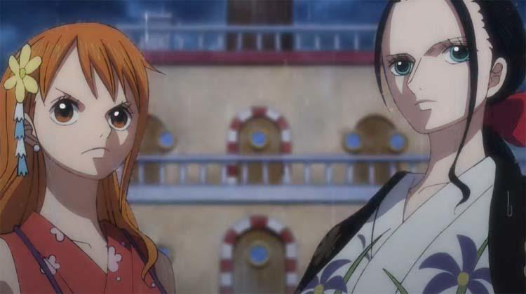 ワンピース アニメ ナミ ロビン