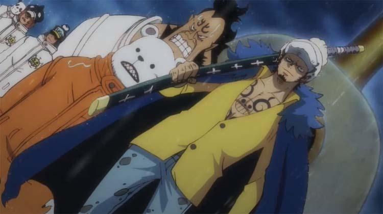 ワンピース アニメ ハートの海賊団