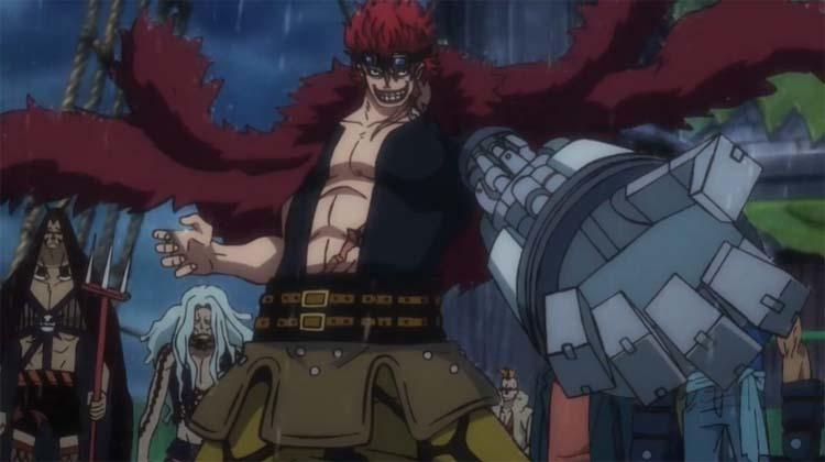 ワンピース アニメ キッド海賊団