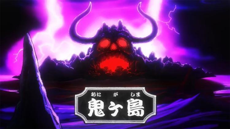 ワンピース アニメ 鬼ヶ島