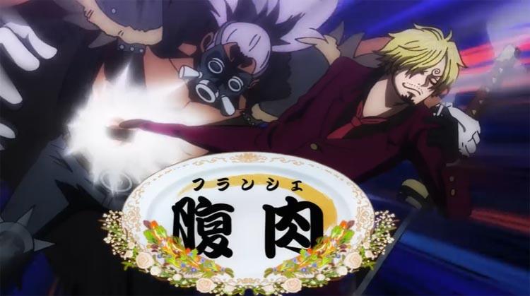 ワンピース アニメ サンジ クランシェ