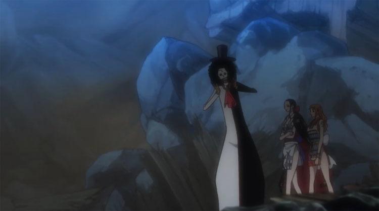 ワンピース アニメ ナミ ロビン ブルック