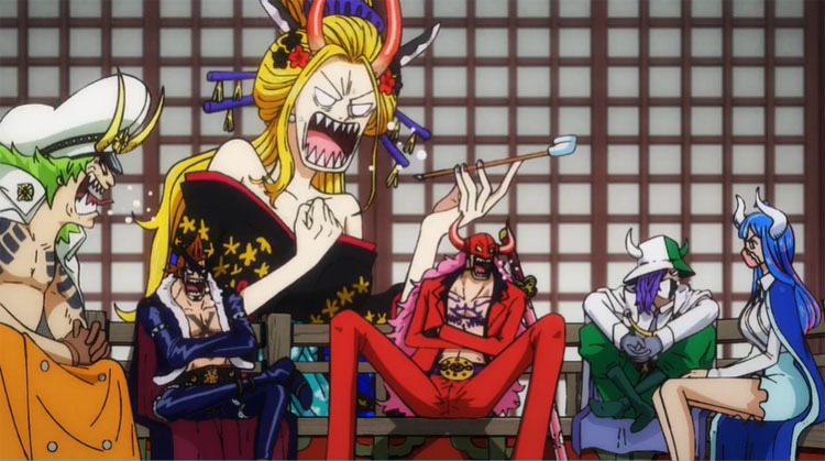 ワンピース アニメ 飛び六胞