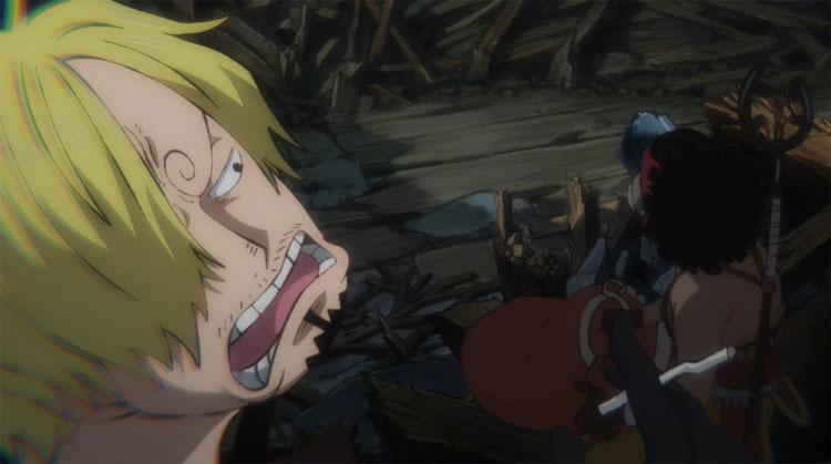 ワンピース アニメ サンジ