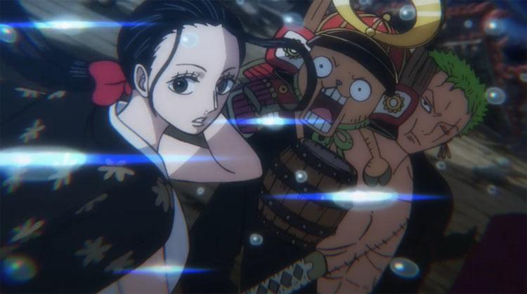 ワンピース アニメ ロビン ゾロ チョッパー