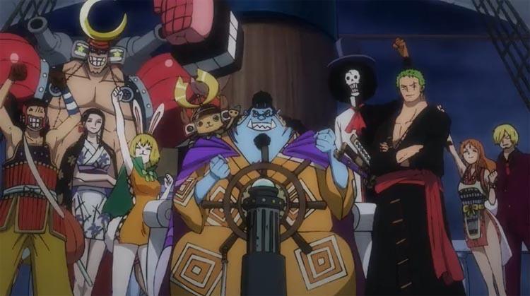ワンピース アニメ ジンベエ