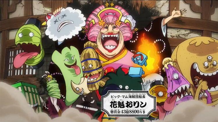 ワンピース アニメ ビッグマム海賊団船長 花魁おリン