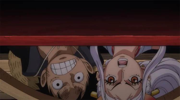 ワンピース アニメ ルフィ ヤマト