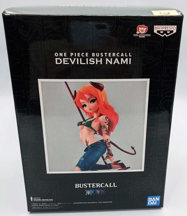 ONE PIECE BUSTERCALL Devilish NAMI ワンピース フィギュア