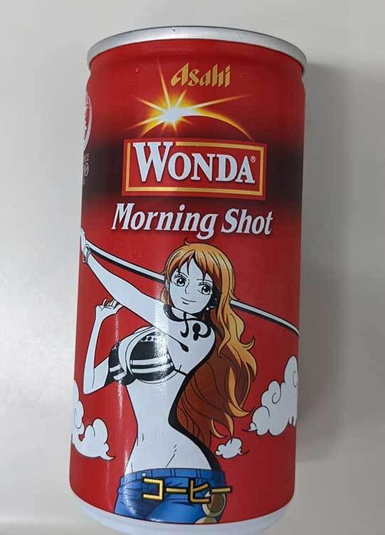 ワンピース 缶コーヒー ワンダ ナミ