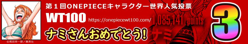 WT100 ナミさんは世界3位