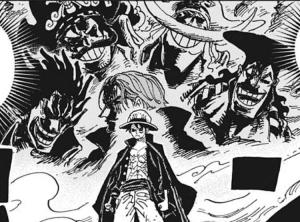 ルフィの背後の5人の海賊 -ワンピース最新考察研究室.1001