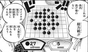 碁盤に見立てた戦力図 -ワンピース最新考察研究室.1003