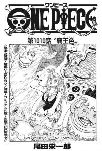 第1010話扉絵 -ワンピース最新考察研究室.1010