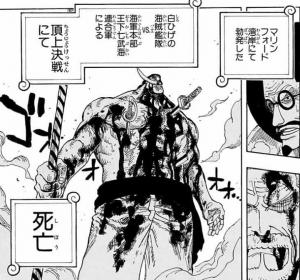 頂上決戦にて白ひげ死亡 -ワンピース最新考察研究室.577