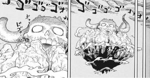 花の都に向けて飛ぶ鬼ヶ島 -ワンピース最新考察研究室.1016