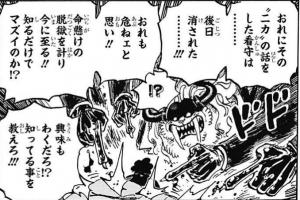 """""""ニカ""""の話をした看守は… 後日消された…!!」 -ワンピース最新考察研究室.1018"""