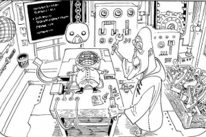カラクリ島で生まれたスペーシー中尉 -ワンピース最新考察研究室.448