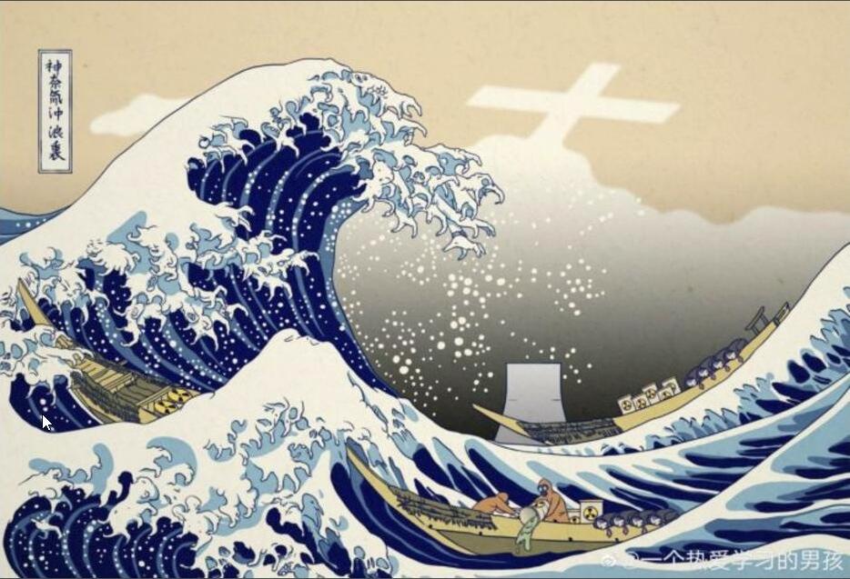 中国北斎浮世絵
