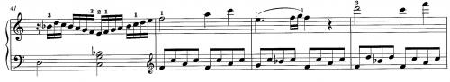 モーツァルトK.545再現部第1主題