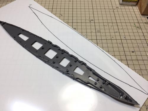 日本海軍戦艦『金剛』(1944 レイテ沖海戦時)製作中EqHhFIdVEAA9zev◆模型製作工房 聖蹟