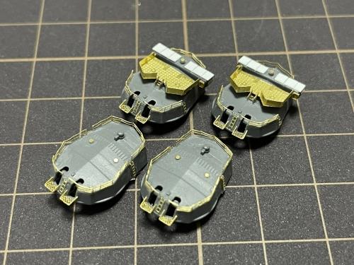 日本海軍 戦艦『金剛』 連装砲塔 製作中Esh6lqPVcAE44od◆模型製作工房 聖蹟