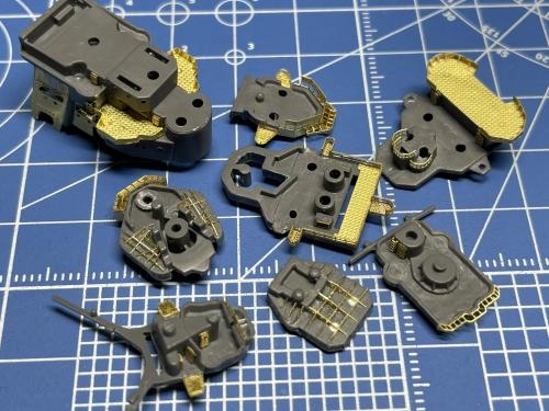 日本海軍 高速戦艦 『金剛』 1944 サマール沖海戦時 艦橋製作中 Ey15qmIVEAA-9Iy◆模型製作工房 聖蹟