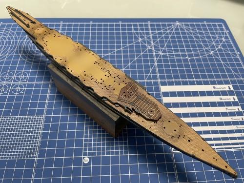 日本海軍 高速戦艦 『金剛』 1944 サマール沖海戦時 甲板装着完了 IMG_3854◆模型製作工房 聖蹟