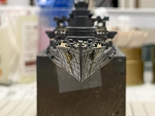 日本海軍 高速戦艦 『金剛』 1944 サマール沖海戦時 製作中 E1nzz73UUAMb3sJ◆模型製作工房 聖蹟