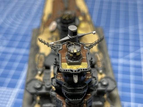 日本海軍 高速戦艦『金剛(1944年 サマール沖海戦時)』 製作中 防空指揮所 E3UEPIlVUAAzMh5◆模型製作工房 聖蹟
