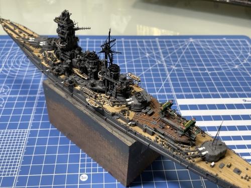 日本海軍 高速戦艦 『金剛』 1944 サマール沖海戦時 製作中 墨入れ&ウェザリングしていきます! E7A6futVIAMiRdL◆模型製作工房 聖蹟