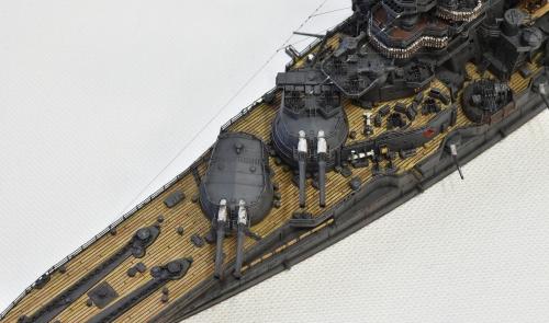 日本海軍 高速戦艦 【金剛】1944 サマール沖海戦時DSC_0004-1-(2)◆模型製作工房 聖蹟