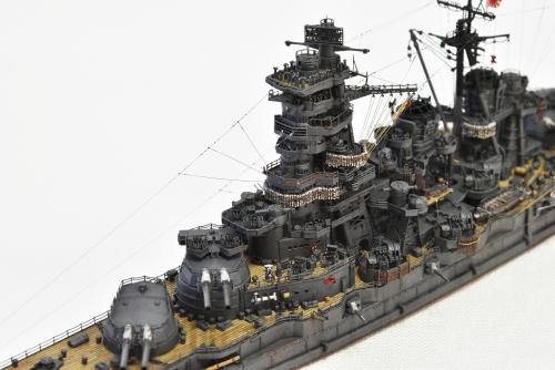 日本海軍 高速戦艦 【金剛】1944 サマール沖海戦時DSC_0009-1◆模型製作工房 聖蹟