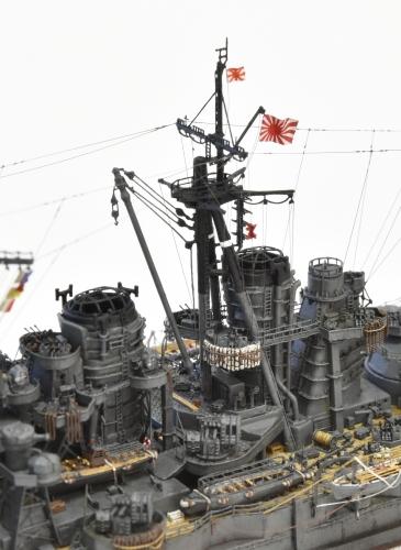 日本海軍 高速戦艦 【金剛】1944 サマール沖海戦時DSC_0040-1-(3)◆模型製作工房 聖蹟