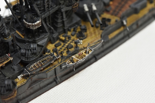 日本海軍 高速戦艦 【金剛】1944 サマール沖海戦時DSC_0056-1◆模型製作工房 聖蹟
