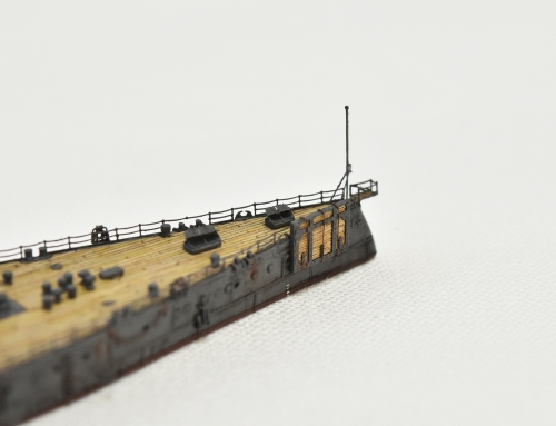 日本海軍 高速戦艦 【金剛】1944 サマール沖海戦時DSC_0073-1-3◆模型製作工房 聖蹟