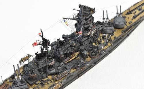 日本海軍 高速戦艦 【金剛】1944 サマール沖海戦時DSC_0135-1-(3)◆模型製作工房 聖蹟